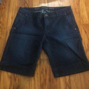 Apt. 9 Dark Denim Bermuda Shorts